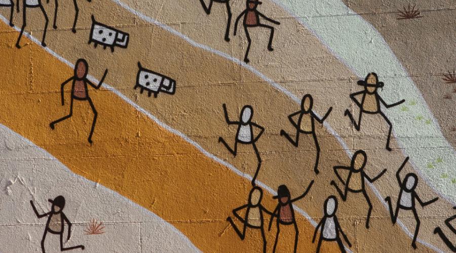 Mural Tom's People