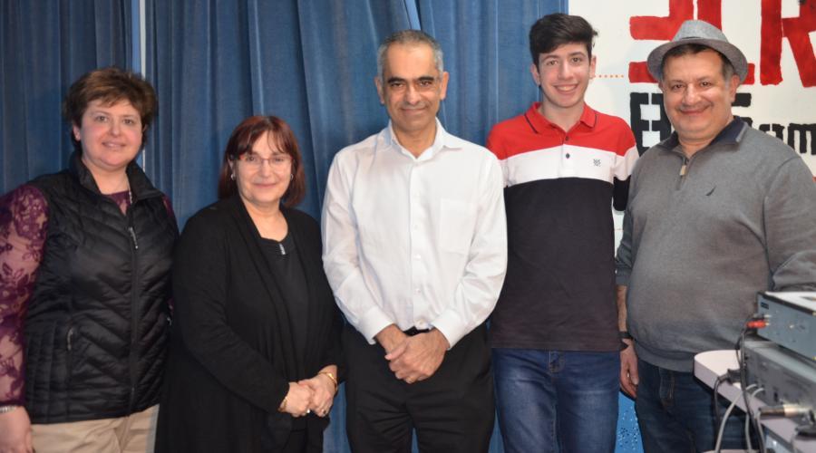 Armenian News radio team 2021