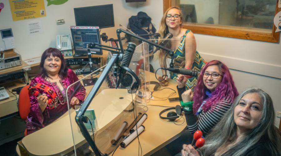 Mafalda radio team 2021 - Photo by Mailen