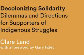 Decolonizing Solidarity Book Now Available at 3CR