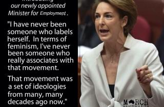 Minister for Employment, Michaelia Cash