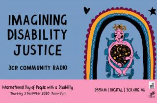 Imagining Disability Day poster 2020 - Ruby Allegra