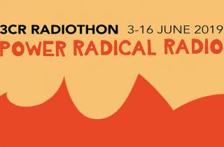 3CR Radiothon is coming - starts 3 June