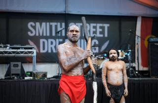 Amos Roach, Smith Street Dreaming 2018. Photo by Sarah Walker.