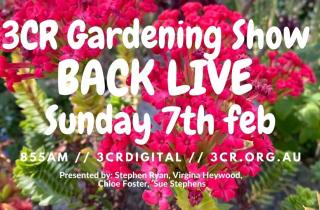The Gardening Show will be back live from 7 February 2021