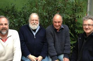 Presenters L-R John Smyth, Roger Beilby, John Trudinger and Geoff Tobin